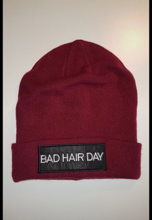 Blind Date Beanie dark red-bordeaux