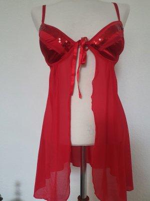 Vestaglia rosso scuro