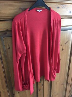 Rote New Look Strickjacke, Größe 44!