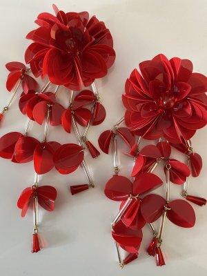 H&M Orecchino a clip rosso