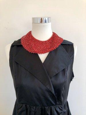 Collier Necklace dark red