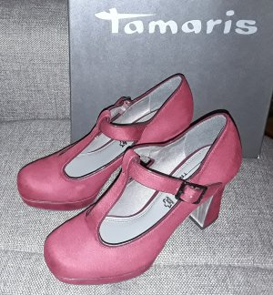 Tamaris Escarpin Salomé multicolore