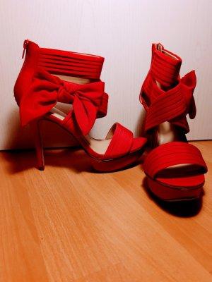 Catwalk Escarpin à plateforme rouge