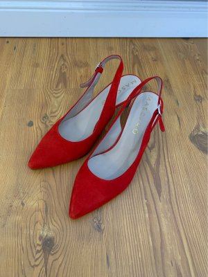 Mascaró Slingback Pumps red