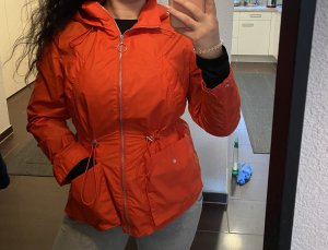 H&M Basic Raincoat red