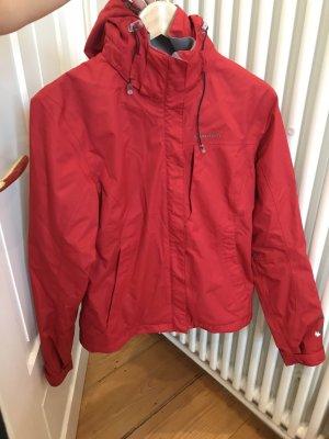 Rote Regenjacke xs 34 Quechua waterproof
