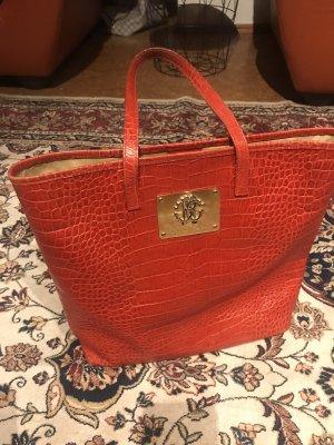 Roberto Cavalli Shoulder Bag dark red-red