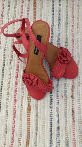 Rote Rosen Sandaletten von Görtz
