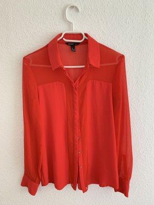 Rote schicke Bluse
