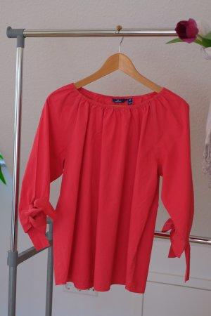 rote schluterfreie Bluse
