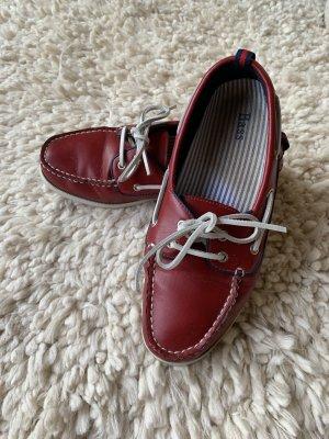 Bass Zapatos de marinero multicolor Cuero