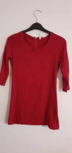 Defacto Long Shirt red