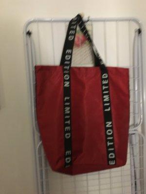 Carry Bag multicolored mixture fibre