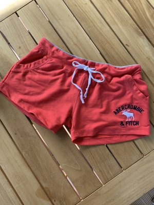 Abercrombie & Fitch Hot pants rosso