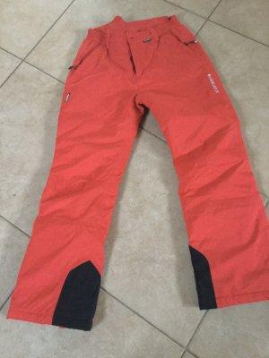 Rote Skihose von Icepaek Gr. 152 Neuwertig