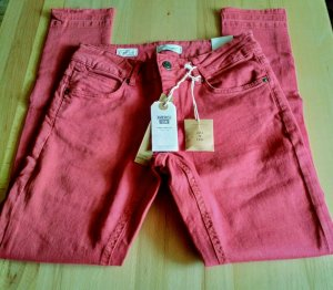 America Today Jeans skinny rosso