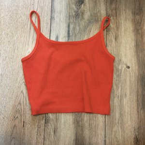 FB Sister Cropped Top brick red