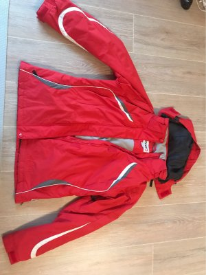 Rote Sportjacke