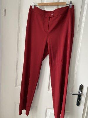 Jones Pantalone a vita alta rosso scuro