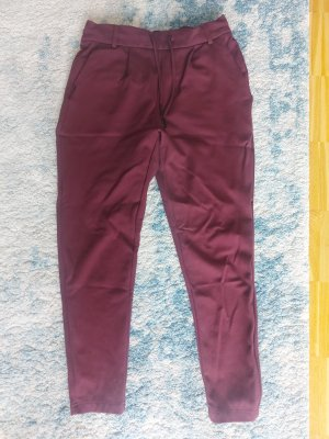 Rote Stoffhose Only