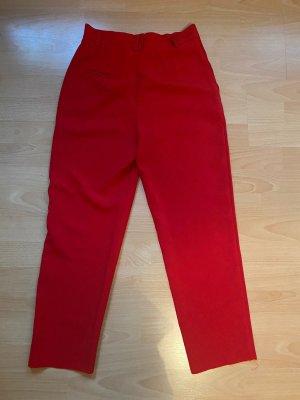 Rote Stoffhose von NAKD