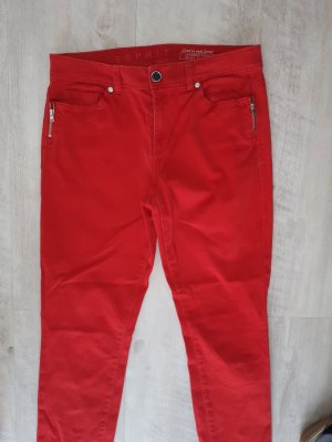 Esprit Stretch Trousers red