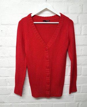 Rote Strickjacke Cardigan Tally Weijl Gr. M