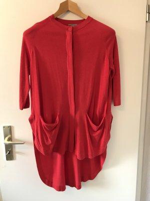 COS Manteau en tricot rouge