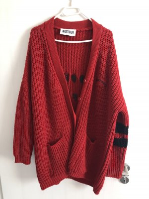 Rote Strickjacke von Worst Behavior