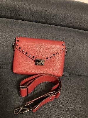 Rote Tasche Hallhuber