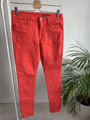 rote Tommy Hilfiger Jeans Gr.: 27/32