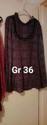 rote Tunika Größe 36