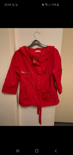 rote Übergangsjacke orsay leichte Jacke