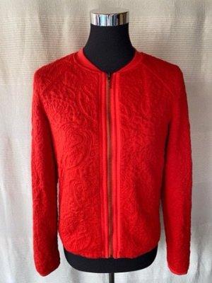 Rote ungetragene Promod Jacke