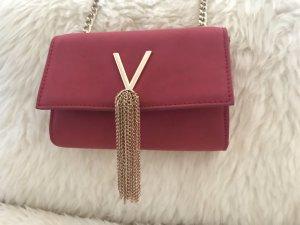 Valentino Bolso tipo pochette rojo