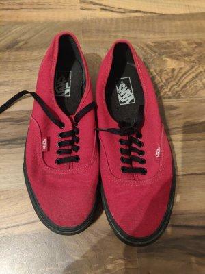 Rote Vans Gr. 42,5