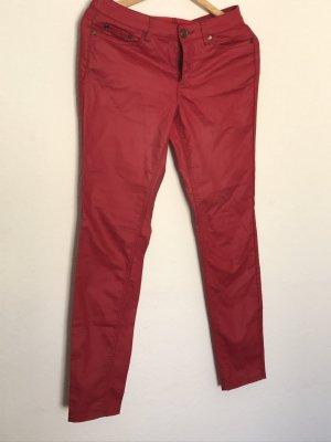 AJC Pantalon rouge brique