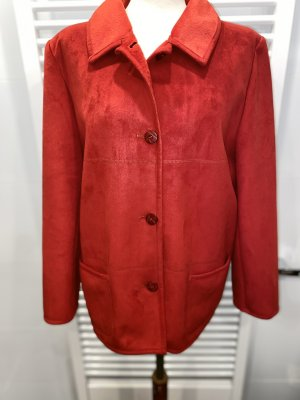 Rote weiche Jacke von Walbusch