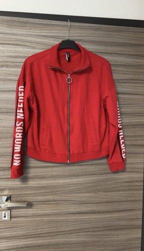 Takko Fashion Chaleco deportivo rojo