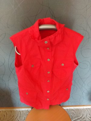 Gerry Weber Sports Vests brick red cotton