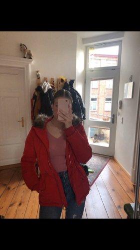 Rote Winterjacke, sehr guter Zustand , Größe S