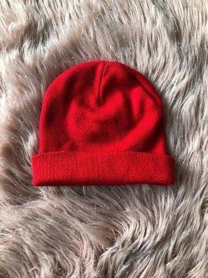 Primark Czapka z tkaniny czerwony