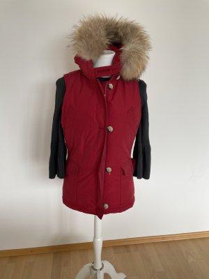 Woolrich Gilet en duvet rouge