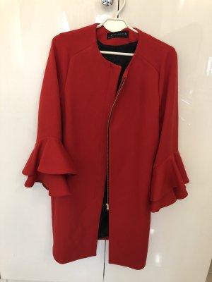 Rote Zara Jacke