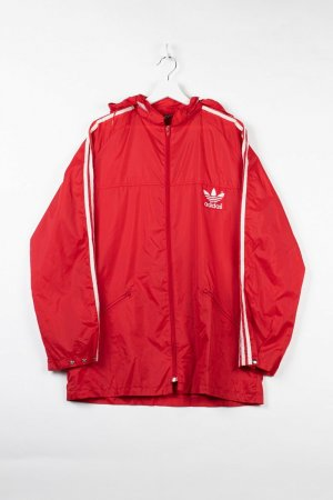 Adidas Coupe-vent rouge