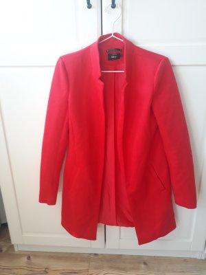 Roter Baumwollmantel Größe XS von Only