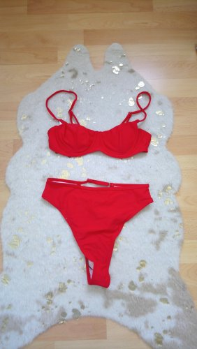 SheIn Bikini red