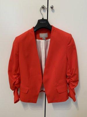 H&M Marynarka z dżerseju czerwony