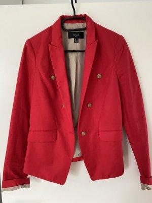 Mango Tweed Blazer red