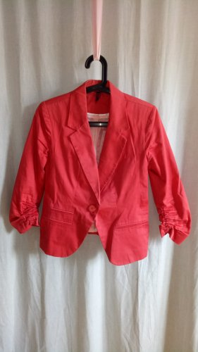 Seven Sisters Jersey Blazer bright red-red